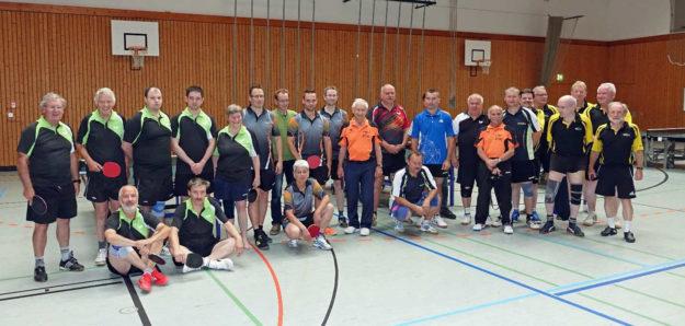 Gruppenbild SVO Jahressportfest 2016 Tischtennis