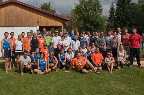 Beach-Volleyball Augsburg Gruppenbild von 2011