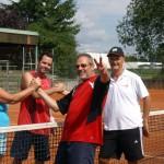 Hertha mit Holger gegen Helmut und Frank