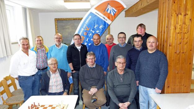 Teilnehmer SVO Schnellschachturnier 2017