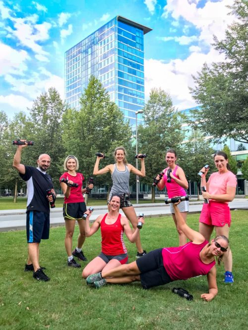 GroupFitness bei Summer Outdoor Bodypower