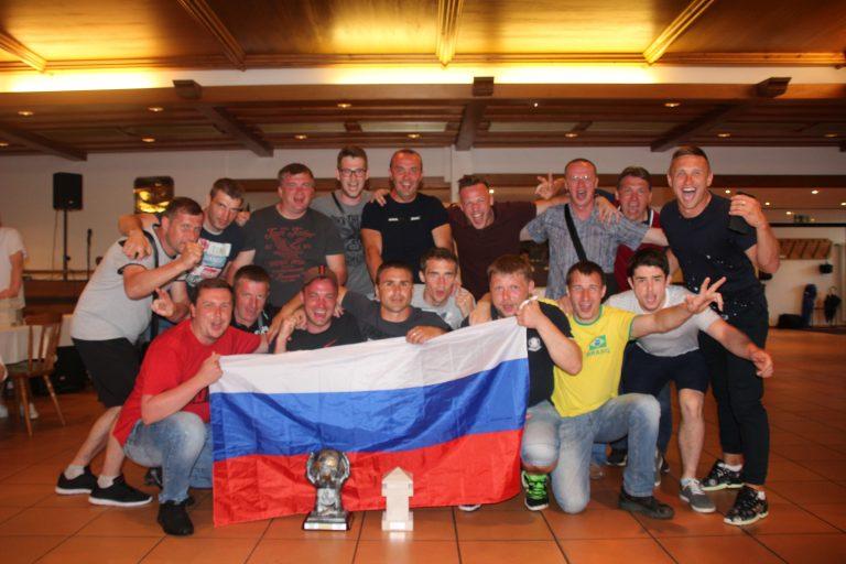 Siegermannschaft aus Smolensk (RUS) bei SV OSRAM SoccerCup 2018