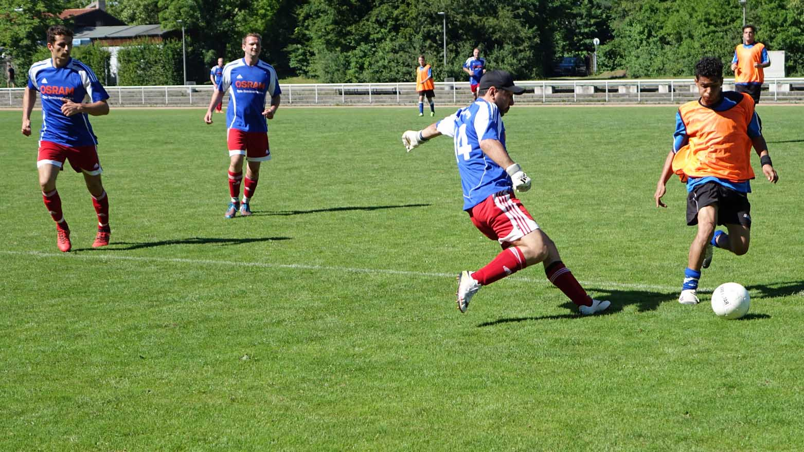 Action beim Soccer Cup 2019